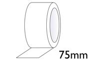 Bedrukte tape 75mm