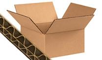 Dubbelgolf kartonnen dozen