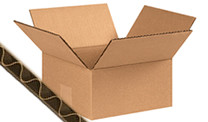 Enkelgolf kartonnen dozen