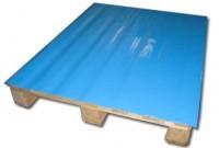Antislipvellen voor europallet (80 x 120) - blauw