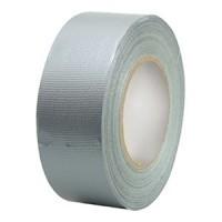 Ducttape zilver/grijs 50mm (50 meter per rol)