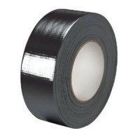 Duct Tape zwart 25mm (50 meter per rol)