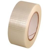 Filament tape (versterkte tape) 75mm - Lengte en breedte versterkt
