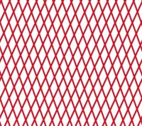 Buisnet 50 tot 100mm - rood